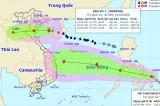 Bão số 7 cách Bạch Long Vĩ 70km, hướng thẳng Thái Bình - Nghệ An