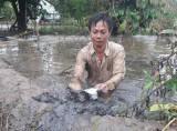 Ngập úng diện rộng ở Cà Mau: Học sinh nghỉ học, nguy cơ thiệt hại hàng ngàn ha lúa