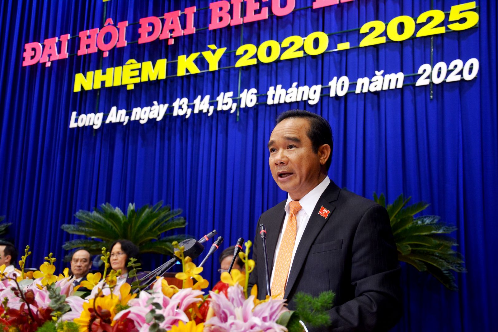 Comrade Nguyen Van Duoc appointed the Secretary of Long An Party Committee for the term 2020-2025
