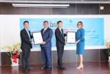 BSI trao chứng nhận ISO 9001 và ISO 14001 cho VWS