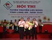 Huyện Cần Đước đoạt giải nhất hội thi tuyên truyền lưu động năm 2020