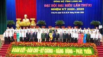 Chào mừng Đại hội Đảng bộ tỉnh Long An