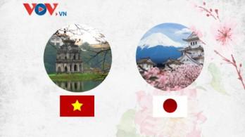 Những dấu mốc lịch sử trong 47 năm quan hệ Việt Nam - Nhật Bản