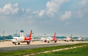 Vietjet offers 50 percent discount on all domestic routes