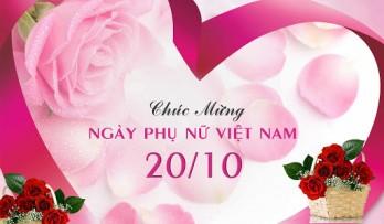 Mừng ngày Phụ nữ Việt Nam!
