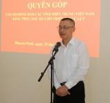 Cộng đồng người Việt Nam tại Campuchia chung tay ủng hộ đồng bào bị lũ lụt miền Trung