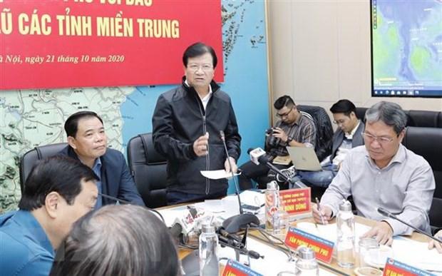 Phó Thủ tướng Trịnh Đình Dũng phát biểu tại hội nghị. (Ảnh: Trần Việt/TTXVN)