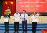 Thị xã Kiến Tường tăng cường kiểm tra, giám sát, xây dựng Đảng bộ trong sạch, vững mạnh