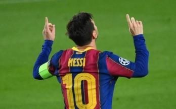 Messi lập kỷ lục độc nhất Cúp C1 ở đại thắng 5 sao của Barca