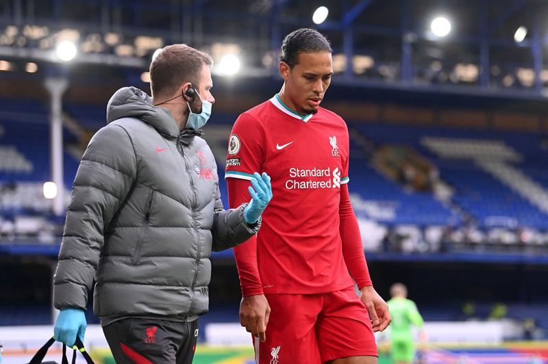Chấn thương của Van Dijk nặng hơn dự kiến