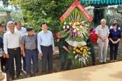Nguyên Chủ tịch nước – Trương Tấn Sang viếng nhà tưởng niệm liệt sĩ Tiểu đoàn 263