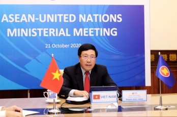 ASEAN, UN officials gather at ministerial meeting