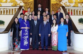Prime Minister welcomes UN officials in Vietnam