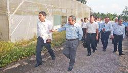 Long An học tập kinh nghiệm tại Khu Nông nghiệp công nghệ cao TP.HCM