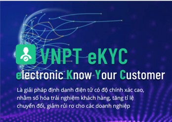 Bộ Thông tin Truyền thông ra mắt nền tảng định danh điện tử VNPT eKYC