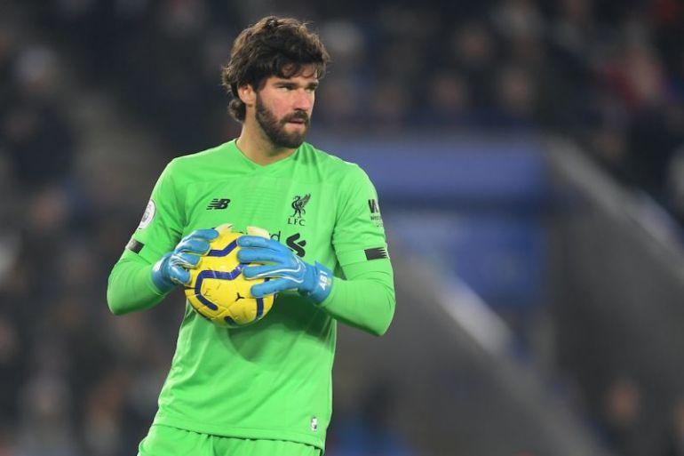 Alisson chuẩn bị trở lại cùng Liverpool sau những tuần nghỉ vì chấn thương