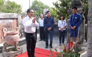 Lễ Kỷ niệm chu niên Đức Chưởng tiền quân Kiến xương Quận công Nguyễn Huỳnh Đức