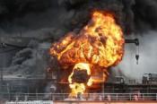 Nổ trên tàu chở dầu của Nga ở Biển Azov, ít nhất 3 người mất tích