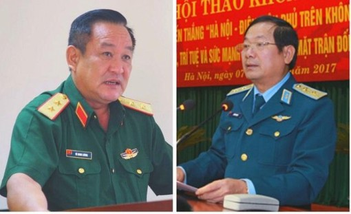 Thủ tướng bổ nhiệm 2 Thứ trưởng Bộ Quốc phòng