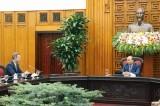 Thủ tướng tiếp TGĐ Cơ quan Phát triển Tài chính Quốc tế Hoa Kỳ
