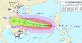 Ngày 27/10, bão số 9 sẽ mạnh lên cấp 13, giật cấp 17