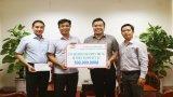 MTTQVN tỉnh Long An tiếp nhận trên 1,9 tỉ đồng ủng hộ đồng bào miền Trung