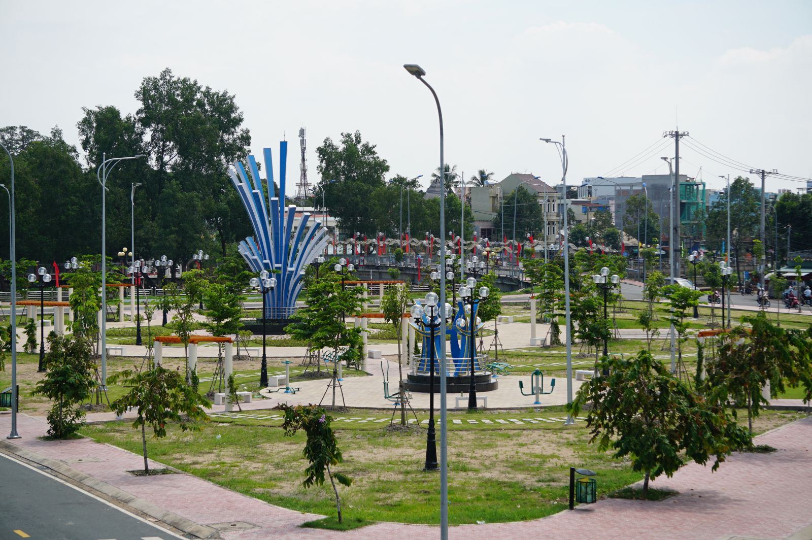 The key project in the term 2020-2025 is to complete Park 2 phase 2