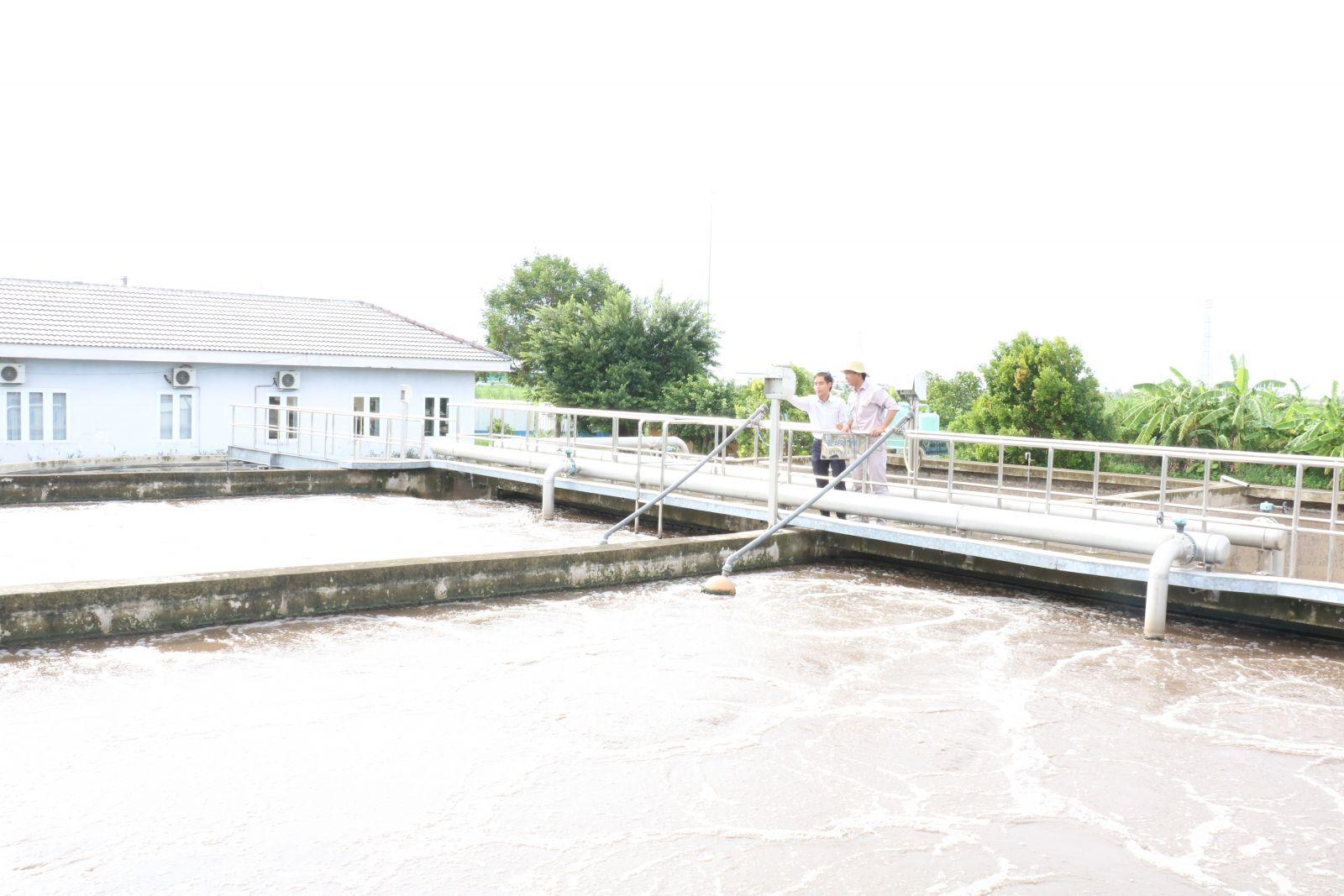 Long An tổ chức triển khai thực hiện có hiệu quả Đề án bảo vệ môi trường lưu vực hệ thống sông Đồng Nai (Ảnh: Các đơn vị phải bảo đảm xây dựng hệ thống xử lý nước thải trước khi dự án đi vào hoạt động)