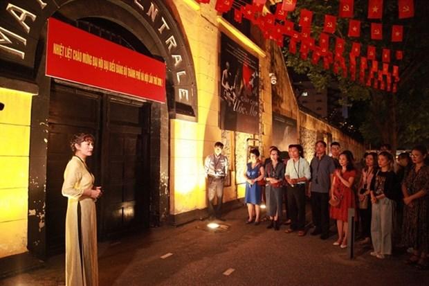 Entrance to Hoa Lo Prison (Photo: hoalo.vn)