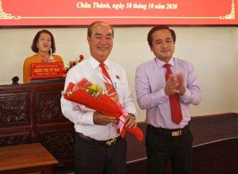 HĐND huyện Châu Thành miễn nhiệm chức danh Chủ tịch HĐND đối với ông Trương Văn Biết