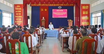 Chủ tịch UBND huyện Cần Giuộc đối thoại với nhân dân về quản lý đất đai, giải phóng mặt bằng