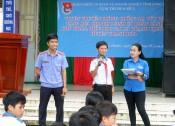 Tuyên truyền phòng, chống ma túy cho học sinh Trường THCS Thạnh Phước