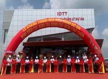 Khánh thành nhà điều hành dự án Khu dân cư - Khu tái định cư - Khu công nghiệp Thủ Thừa