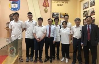5 năm, học sinh Việt Nam đạt hơn 200 huy chương, bằng khen tại các kỳ Olympic