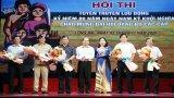 Hội thi Tuyên truyền lưu động biểu diễn phục vụ tại Long An