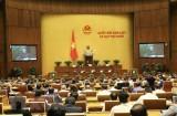 Quốc hội thảo luận về kinh tế-xã hội và tiến hành công tác nhân sự