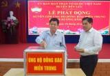Quyên góp ủng hộ đồng bào miền Trung