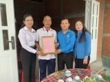 Agribank chi nhánh tỉnh Long An trao 2 mái ấm công đoàn