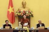 Chủ tịch Quốc hội Nguyễn Thị Kim Ngân dự khai mạc phiên họp 50 của Ủy ban TVQH