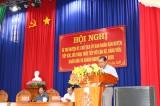 Bí thư Huyện ủy, Chủ tịch UBND huyện Tân Trụ đối thoại trực tiếp với cán bộ, đảng viên, nhân dân và doanh nghiệp