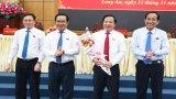 Bí thư Tỉnh ủy- Nguyễn Văn Được được bầu giữ chức vụ Chủ tịch HĐND tỉnh, đồng chí Nguyễn Văn Út được bầu làm Chủ tịch UBND tỉnh Long An