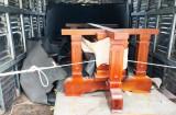 Công an huyện Vĩnh Hưng phát hiện 2 vụ vận chuyển gỗ không rõ nguồn gốc