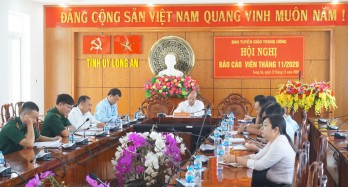 Ban Tuyên giáo Trung ương tổ chức hội nghị báo cáo viên tháng 11/2020