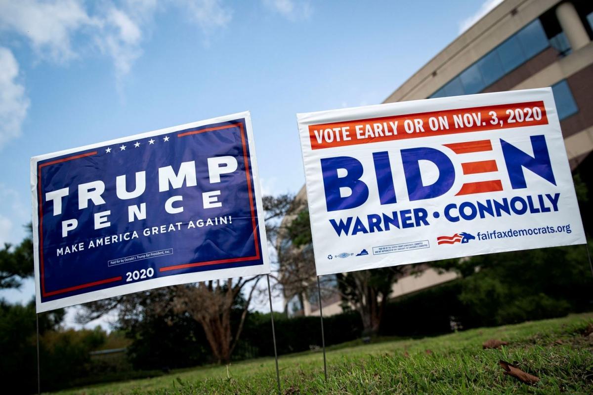Cuộc bầu cử tổng thống Mỹ 2020 đã cho thấy sự thay đổi quan điểm của cử tri theo hướng bất ngờ hơn nhiều so với những dự đoán truyền thống. Ảnh: Washington Post