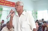 Cử tri huyện Đức Hòa, huyện Tân Hưng: quan tâm các vấn kinh tế-xã hội