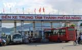 Đà Nẵng tạm dừng vận tải hành khách để ứng phó bão số 13