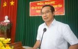Bí thư Tỉnh ủy, Chủ tịch HĐND tỉnh Long An - Nguyễn Văn Được tiếp xúc cử tri xã Nhựt Chánh