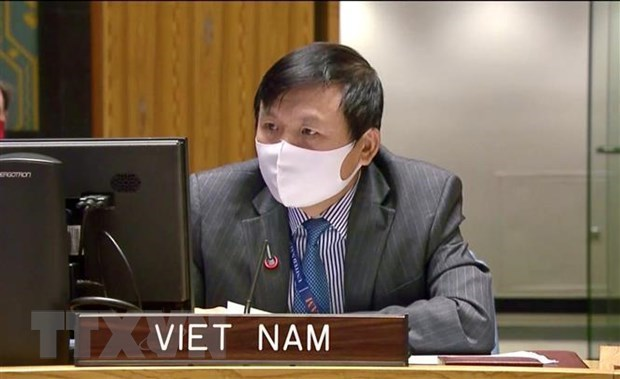 Ambassador Dang Dinh Quy, head of the Vietnamese Mission to the UN (Photo: VNA)