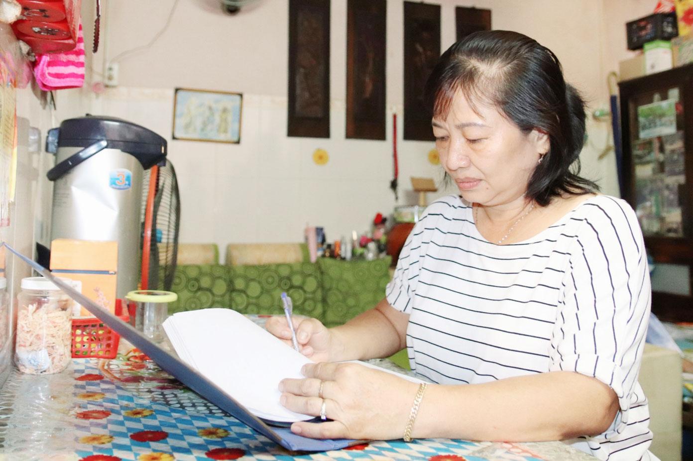 Bà Nguyễn Thị Kim Hà đã gắn bó với công tác dân số 25 năm