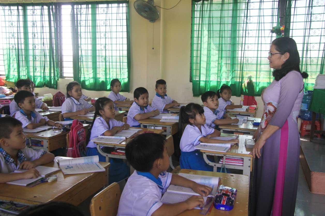 Học sinh lớp cô Nguyễn Thị Bạch Tuyết năng động, tự tin
